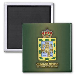 Ciudad de Mexico Square Magnet