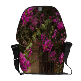 Ciudad Monumental, flower-covered buildings Commuter Bags