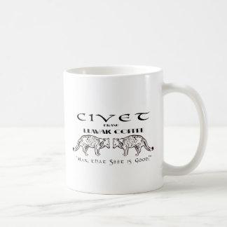 Civet Brand Luwak Coffee - Man that S*** is good! Mugs