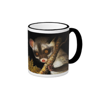 Civet cat realistic painting coffee mugs