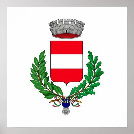 Cividale del Friuli Stemma, Italy Poster