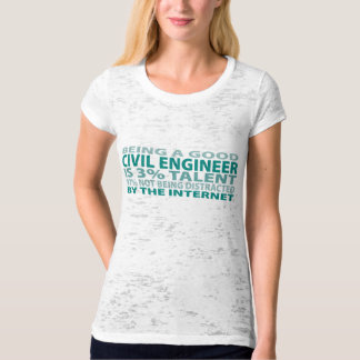 Civil Engineer 3% Talent T-Shirt