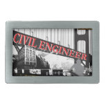 Civil Engineer Belt Buckle
