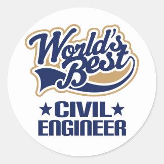 Civil Engineer Gift Stickers