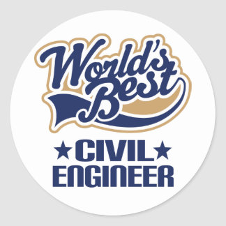 Civil Engineer Gift Stickers