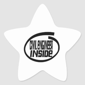 Civil engineer Inside Sticker