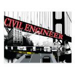 Civil Engineer Postcard