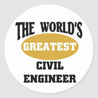 Civil Engineer Stickers