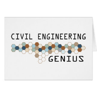 Civil Engineering Genius Cards