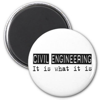 Civil Engineering It Is 6 Cm Round Magnet