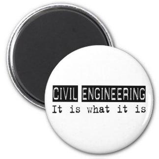 Civil Engineering It Is 6 Cm Round Magnet