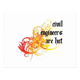 Civil Engineers Are Hot Post Card