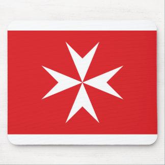 Civil Ensign Of Malta, Maldives flag Mouse Mat