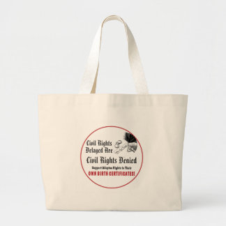 Civil Rights Delayed Tote Bags