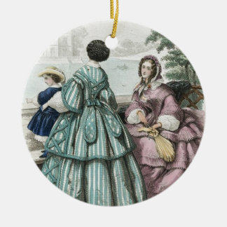 Civil War Antebellum Fashion Ladies Ball Gown Christmas Ornament