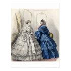 Civil War Antebellum Fashion Ladies Ball Gown Postcard