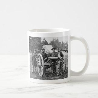 Civil War Artillery 1860s Coffee Mugs