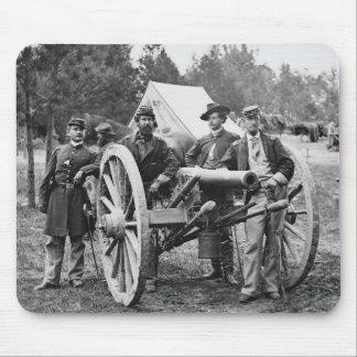 Civil War Artillery 1860s Mousepad