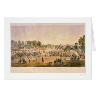 Civil War Baseball 1863 Card