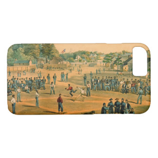 Civil War Baseball 1863 iPhone 8/7 Case