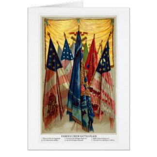 Civil War Battle Flags no.6 Card