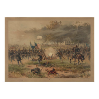 Civil War Battle of Antietam Sharpsburg Print
