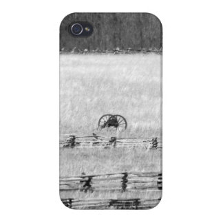 Civil War Battle of Pea Ridge Battlefield Cannons Cover For iPhone 4