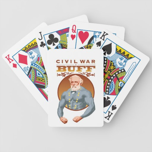 CIVIL WAR BUFF PLAYING CARDS--General Lee