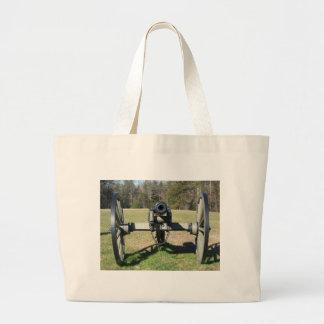 Civil War Cannon Tote Bags
