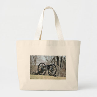Civil War Cannon Jumbo Tote Bag