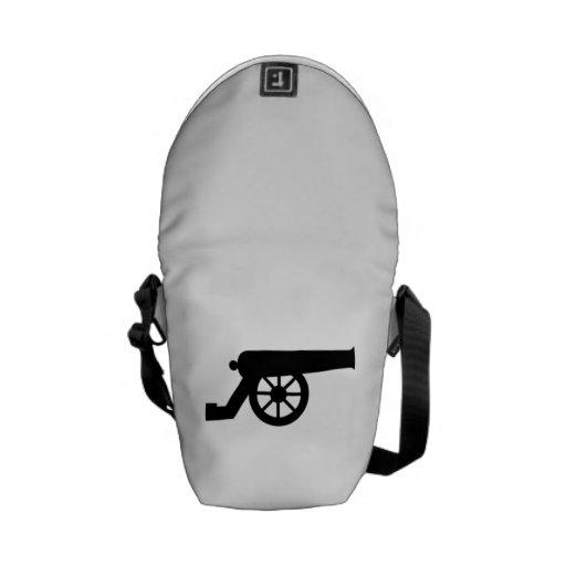 Civil War Cannon Messenger Bag