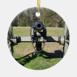 Civil War Cannon Ornament