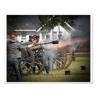 Civil War Cannon Photo Art