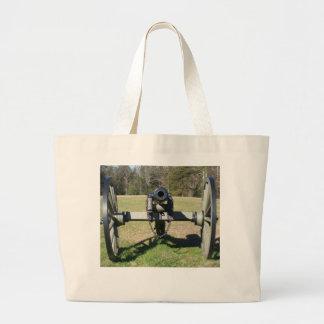 Civil War Cannon Canvas Bags