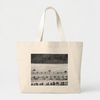Civil War Cannons Photograph Canvas Bags