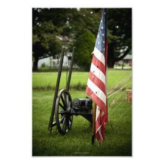 Civil War Canon Digital Print - Historical Lyme Vi Photo