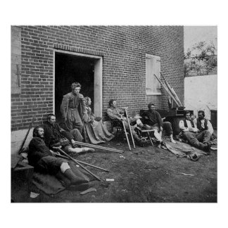 Civil War Casualties, 1864 Poster