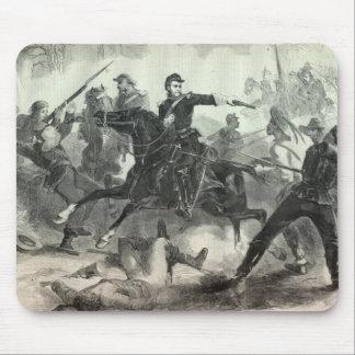 Civil War cavalry attack Mouse Pad
