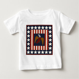 Civil War Era Digital Art Quilt Square Tee Shirt