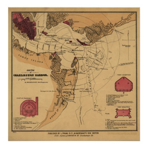 Civil War Fort Sumter Poster