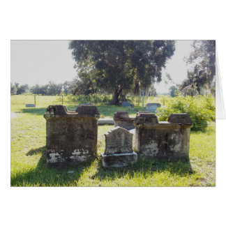 Civil War Grave Photo Card with envelope