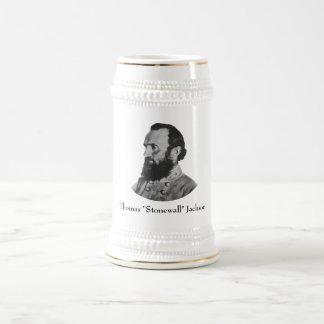Civil War Hero -- General Stonewall Jackson 18 Oz Beer Stein