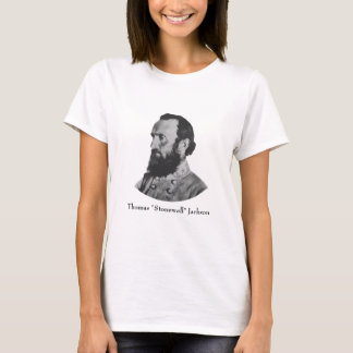 Civil War Hero -- General Stonewall Jackson T-Shirt