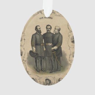 Civil War Heroes Ornament