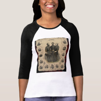 Civil War Heroes Sketch T-Shirt
