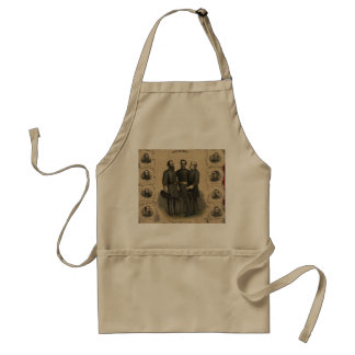 Civil War Heroes Standard Apron