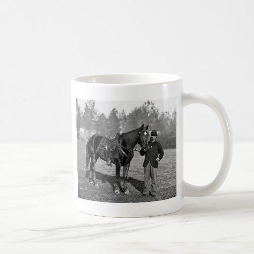 Civil War Horse, 1864 Basic White Mug