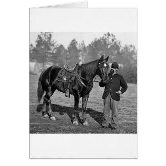 Civil War Horse, 1864 Greeting Card