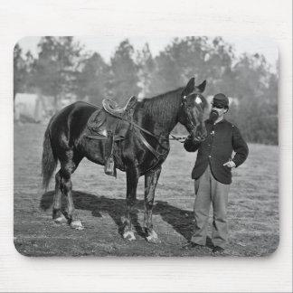 Civil War Horse 1864 Mousepad