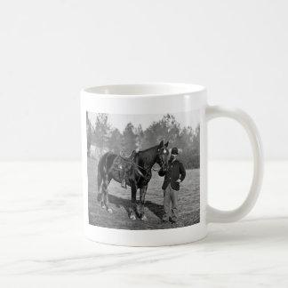 Civil War Horse, 1864 Coffee Mugs